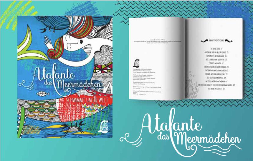Atalante das Meermädchen von Simone Veenstra, das perfekte Sommerbuch für Kinder