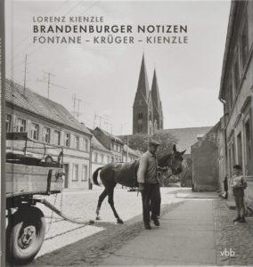 Buchcover Brandenburger Notizen. Fontane – Krüger – Kienzle